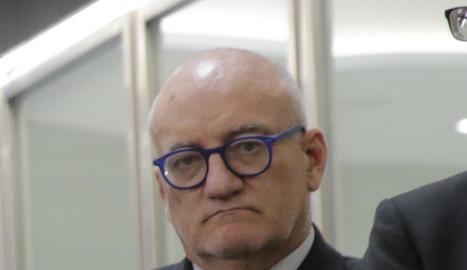 Eduardo Enrech, jutge degà.