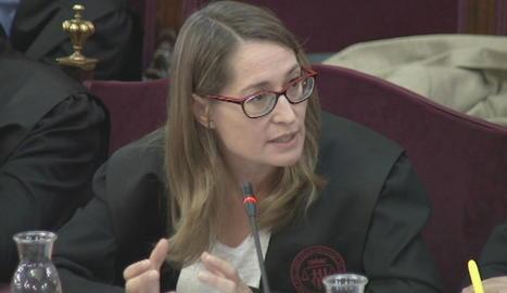 Marina Roig, l'advocada de Jordi Cuixart.