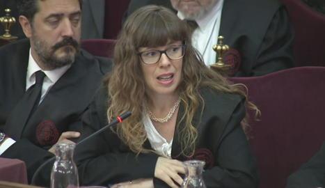 L'advocada de Carme Forcadell, Olga Arderiu