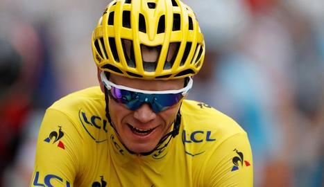 Chris Froome buscava aquest any la cinquena victòria en el Tour.