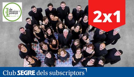 El Cor Madrigal, uns dels cors barcelonins de més prestigi, serà l'encarregat d'inaugurar aquesta nova edició del cicle Juliol de Música i Poesia.
