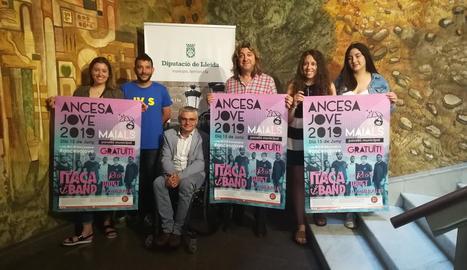 La Diputació de Lleida va acollir la presentació de l'Ancesa Jove 2019, que se celebrarà a Maials.