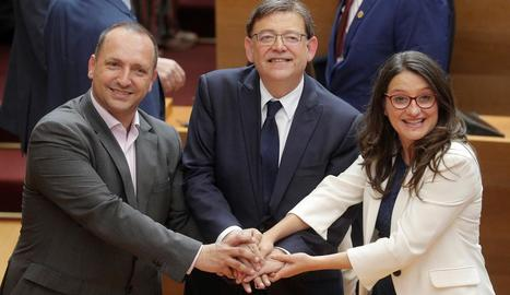 Ximo Puig va ser reelegit president de la Generalitat Valenciana.