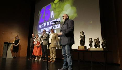 Lola Dueñas va rebre el Premi d'Honor.