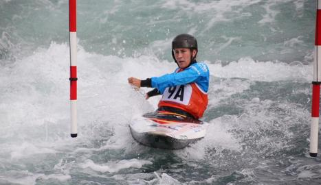 Núria Vilarrubla va aconseguir ahir el pas en les dos categories.