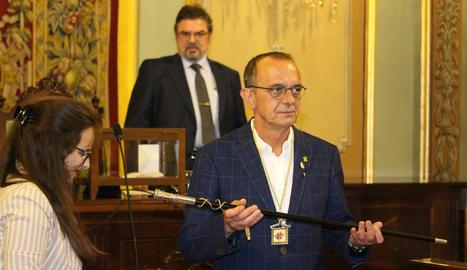Pueyo, escollit nou alcalde de Lleida