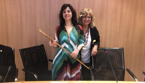 Alba Pijuan, nova alcaldessa de Tàrrega gràcies al suport de la CUP i el PSC