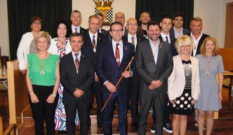 El nou consistori de la capital del Pla d'Urgell.