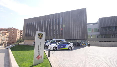 Vista de la comissaria de la Guàrdia Urbana.