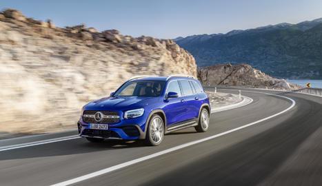 És el primer turisme compacte de Mercedes, disponible com a opció amb una tercera filera de seients.