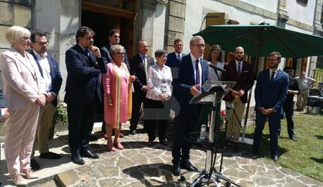 Paco Boya, investit nou Síndic d'Aran