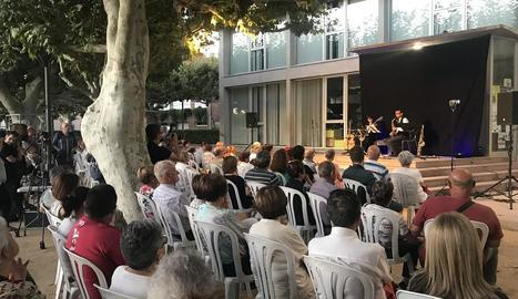 Concert del festival de guitarra l'any passat a les Borges.