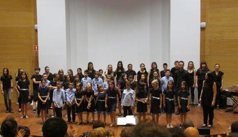 Concert de final de curs de totes les formacions de la Coral Shalom