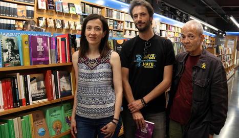 Eulàlia Pagès, Daniel Genís i Antoni Munné-Jordà.