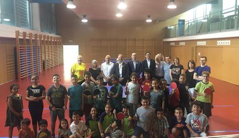 L'acte de clausura d'aquest curs va tenir lloc a l'Escola Àngel Guimerà de Balaguer amb presència de totes les institucions implicades.