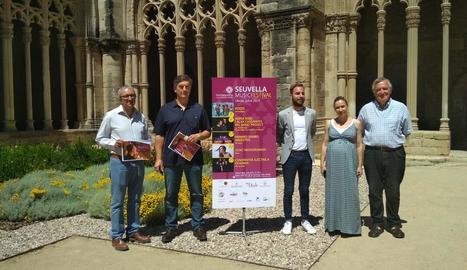 Imatge de la presentació del Seu Vella Music Festival.