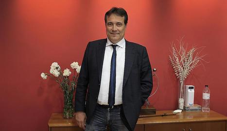 Jordi Latorre, Eloi Bergós i Josep Ibarz.