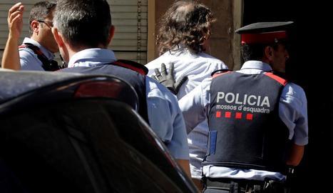 El detingut per la desaparició de l'exparella a Terrassa.