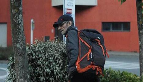 Josu Ternera el dia que va ser arrestat als Alps francesos.