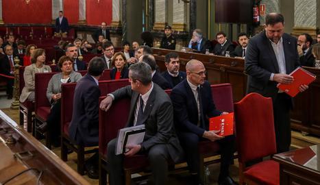 El Suprem avala el trasllat dels presos a Catalunya
