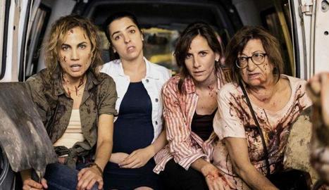 Les quatre protagonistes de la sèrie.