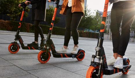 Imatge cedida per Goflash sobre com seran els patinets a Lleida.