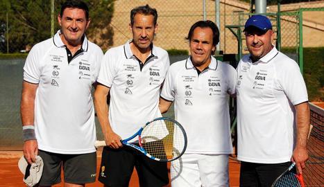 El torneig va comptar fa 2 anys amb la participació de Jordi Arrese.