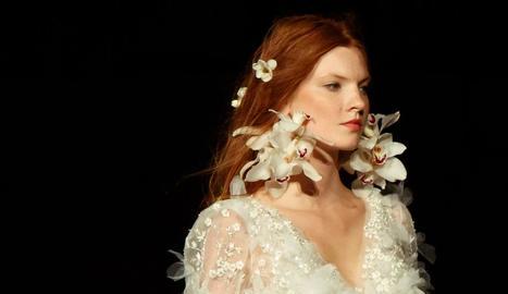 marchesa. Romàntics i delicats, de conte de fades. Amb complements florals que aporten misteri i bellesa.