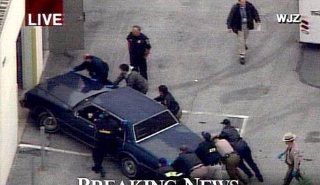 Fotograma de la pel·lícula Assassins nats (Natural Born Killers), dirigida el 1994 per Oliver Stone