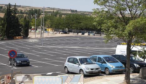 L'aparcament gratuït de l'avinguda Onze de Setembre compta ara amb 220 places.