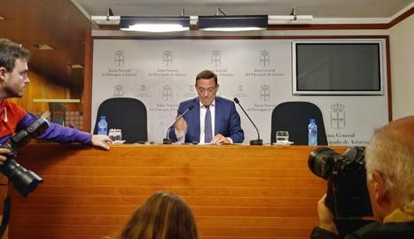 Juan Vázquez, candidat de Cs a la Presidència d'Astúries, tercera dimissió del dia