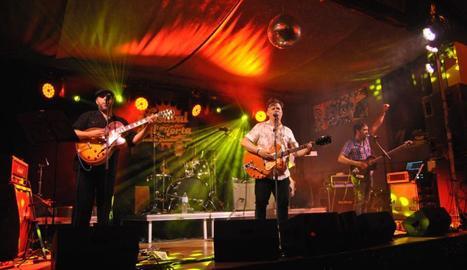 Lo Pardal Roquer va ser una de les bandes protagonistes de la 15a edició del Festival de l'Horta.