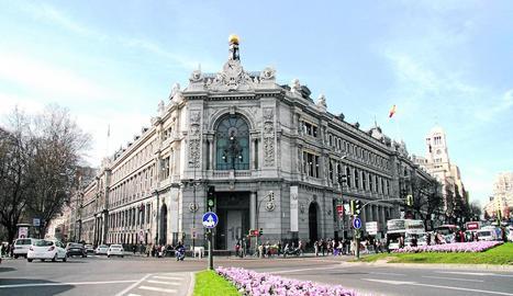 Imatge de la seu central del Banc d'Espanya a Madrid.