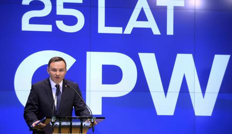 El president polonès, Andrzej Duda, en una imatge d'arxiu.