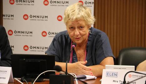 Una observadora del judici de l'1-O alerta a Espanya de les