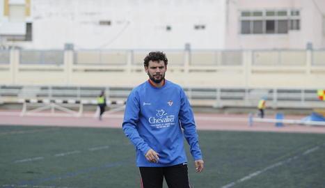 Jorge Garcés serà el segon de Molo al Lleida Esportiu.