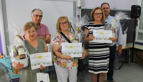 Entrega de premis del concurs Les Garrigues en Flor.