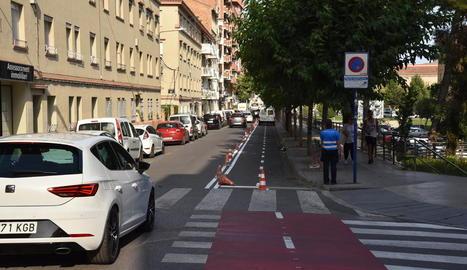 L'eliminació d'aparcaments comportarà la prolongació del carril bici a Ramón y Cajal.