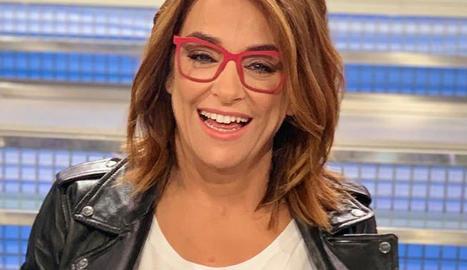 La presentadora Toñi Moreno, embarassada als 46