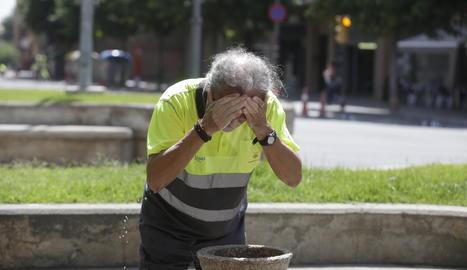 Lleida torna a marcar 42 graus de temperatura màxima