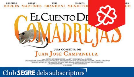El cartell de la pel·lícula argentina 'El cuento de las comadrejas'.