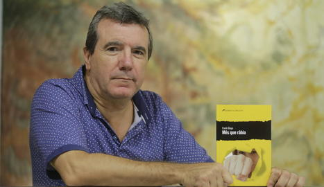 Ferran Sáez, en una imatge d'arxiu a l'IEI el 2017.