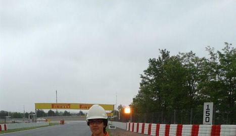 A les 24 Hores de Le Mans.
