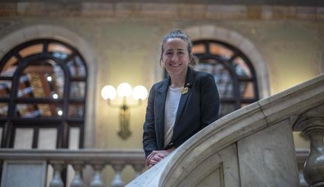 """Núria Picas: """"Tant de bo no fos diputada al Parlament"""""""