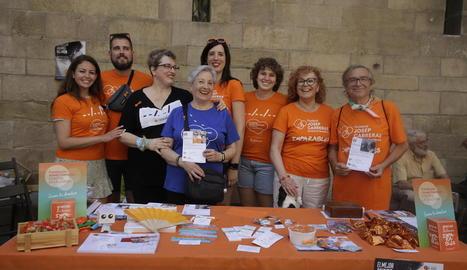 Els Imparables voluntaris de la fundació Josep Carreras.