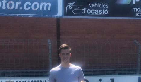 Jofre Graells, el nou reforç del CFJ Mollerussa.
