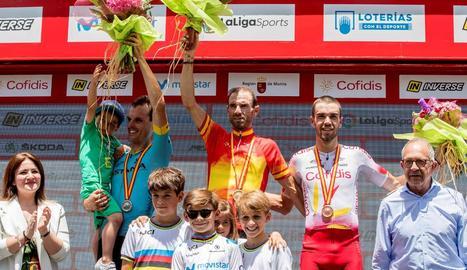 Valverde aconsegueix el tercer títol estatal