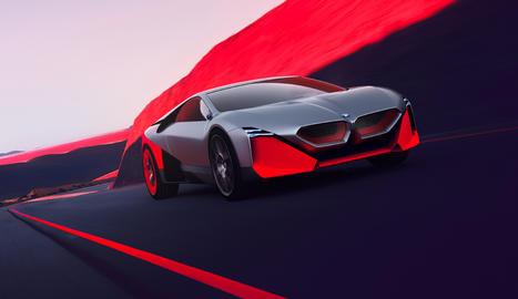Aquest model ofereix un avanç del futur electrificat de BMW M al centrar l'atenció en un conductor compromès en la conducció.
