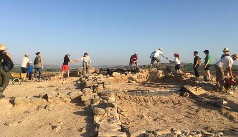 El jaciment de Gebut acull una vintena d'alumnes de la UdL