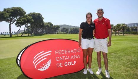 Joel Moscatel, campió català de golf